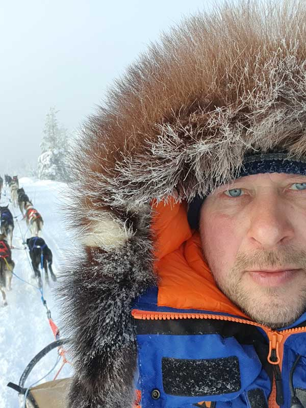 Juha-Pekka Björkstedt, Guesthouse Husky.