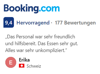 Booking. com 9,4 - Hervorragend, 177 Bewertungen.