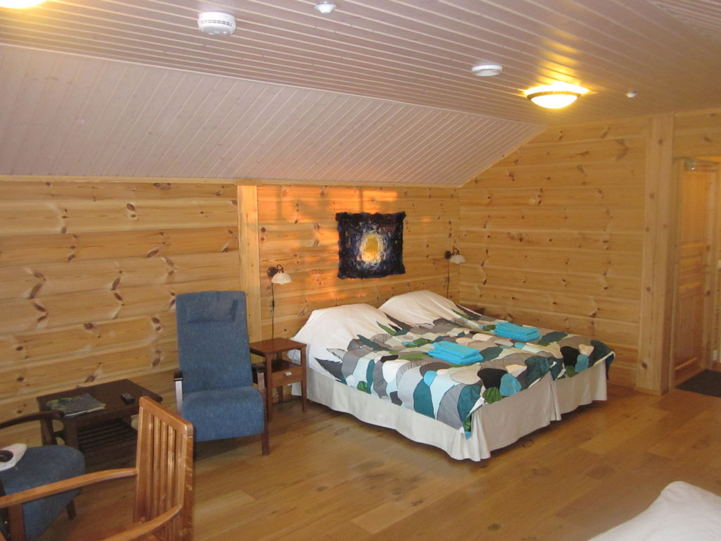 Cosy accommodation for four in Ivalo, Lapland, Finland.